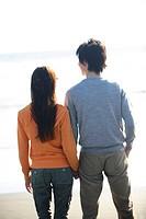 Japanese couple in Enoshima