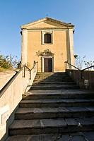abbazia di santa maria monticello, arsago seprio, lombardia, italia