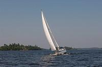 Sailboat at Lake of the Woods