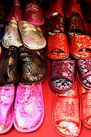 Silk Chinese slippers