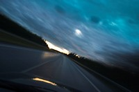 Car, Horizon, Highway, Clouds, Automobile
