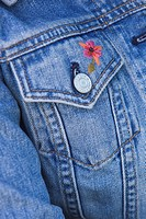 Blue, Button, Casual Clothing, Close_Up, Denim