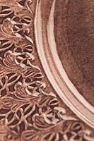 Carving, Close_Up, Design, Floral Pattern, Full Frame
