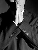 gesturing, businessman, gesture, hands together, business suit, business