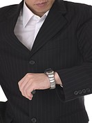 time, businessman, wrist watch, hand, business suit, business