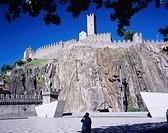 Castelgrande castle, castle, Bellinzone, Switzerland, Europe, World Heritage