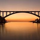 When completed in 1963, Ponte da Arrabida, which connects Porto Oporto and Gaia, was the longest concrete single arch bridge in the world.