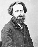 Élisée Reclus (1830 - 1905), French geographer, writer and anarchist. Photograph by Nadar