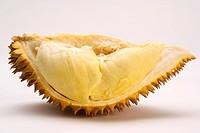 Slice of durian