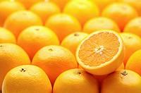 Oranges, full frame