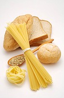Food of wheat flour product, close_up