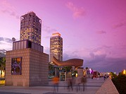 Spain, Barcelona, near Port Olimpic