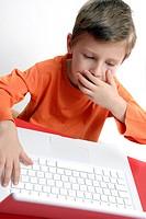 Child internet shock