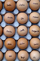 First names eggs