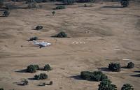 airstrip in Lower Zambezi National Park, Zambia
