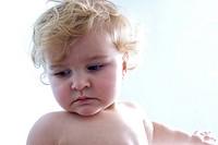 Baby sadness