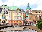 Image of the historical inner city of Stockholm, Sweden.