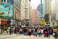January 2006, A stock photo of buildings and people in Hong Kong, a typical lifestyle in a big crowded city in Asia.Hong Kong.  Agent 109 AAP Image/Da...