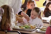 Little girl canteen