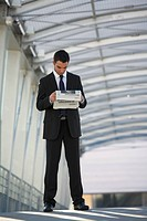 Man newspaper