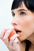 Woman peach