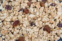 Breakfast cereal, close_up
