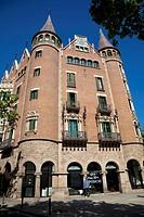 Casa Terrades (aka Casa de les Punxes, 1903-05), Barcelona. Catalonia, Spain
