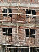 Building under construction, Pune, Maharashtra, India