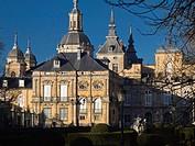 King's Gardens and Royal Palace of La Granja de San Ildefonso, built by Philip V during the eighteenth century - Sierra de Guadarrama - Segovia - ...