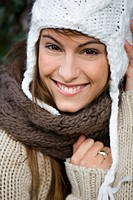 Woman winter cap