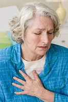 Senior woman pain