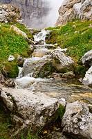 Stream in Kananaskis, Alberta, Canada