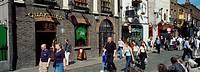 Dublin,Co Dublin,Ireland,Shop fronts in Temple Bar