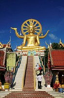 Big Buddha, North coast, Ko Samui, Thailand
