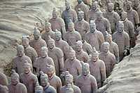 Asia,China,Shanxi,Xi´an,LinTong,Terra_cotta Museum Pit 1,Warrior,UNESCO,World Cultural Heritage