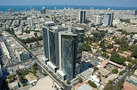 Aerial photograph of Tel Aviv´s downtown