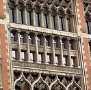 Chicago, Illinois, Facade of a building