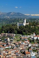 the village of Villeneuve Loubet Alpes-Maritimes 06 PACA France Europe