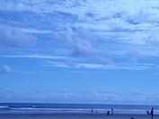 Landscape, People, Vila Tupy, Praia Grande, São Pa