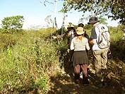 People, Treads, Pantanal, Mato Grosso do Sul, Brazil