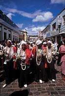 Procession, Nossa Senhora da Boa Morte Fraternity, Cachoeira, Bahia, Brazil