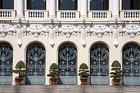 Historic architecture, People´s Committee Building, Ho Chi Minh Saigon, Southern Vietnam region, Vietnam
