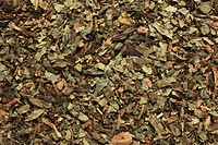 Dried asarabacca leaves Asarum europaeum