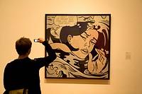 United States, New York City, Manhattan, Midtown, MOMA, Museum of Modern Art, painting by Roy Lichtenstein