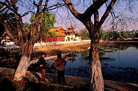 China, Yunnan province, Kunming, capital of the province, the park of the green lake
