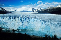 Argentina, Patagonia, Los Glaciares National Park listed as a World Heritage by UNESCO, panorama on Perito Moreno glacier