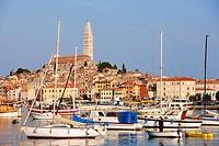 Croatia, Istria, Adriatic Coast, the village of Porec, Euphrasian Basilica, Episcopal Complex of the Euphrasian Basilica in the Historic Centre listed...