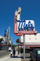 United States, California, Los Angeles, Hollywood Boulevard, Mel´s drive_in restaurant