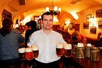 Czech Republic, Prague, U Pinkasu tavern