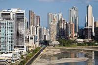 Avenue Balboa and Punta Paitilla, Panama City, Panama